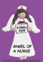 Female Nurse Ornament