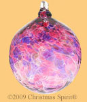Harvest Wine 4 inch glass ball ornament