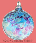 Dragonfly 3 inch glass ball ornament