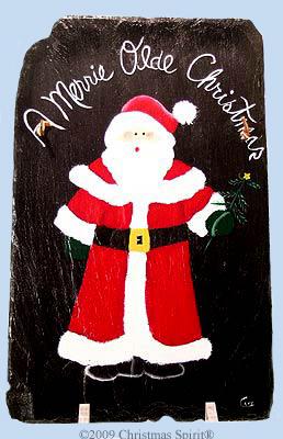 A Merrie Olde Christmas Slate