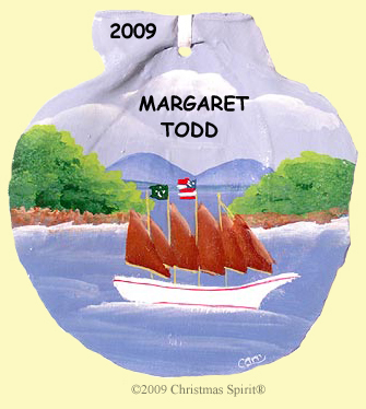 Margaret Todd on Scallop Shell