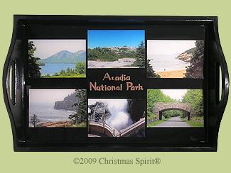Acadia National Park Tray
