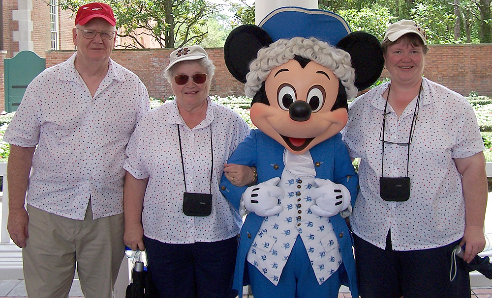 Ed, Dawn and Nancy in Disney World®